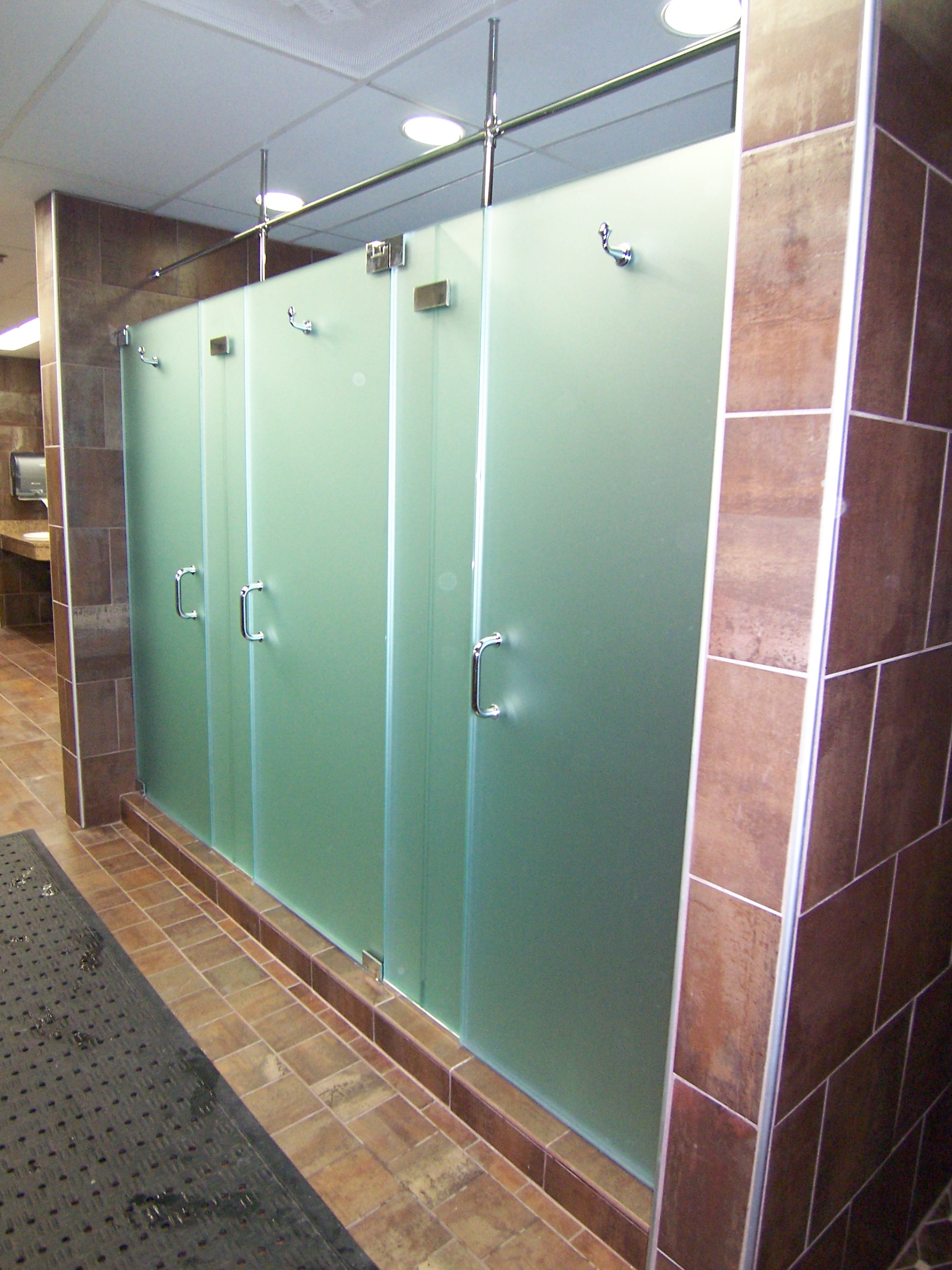 Mirrors custom glass shower door king