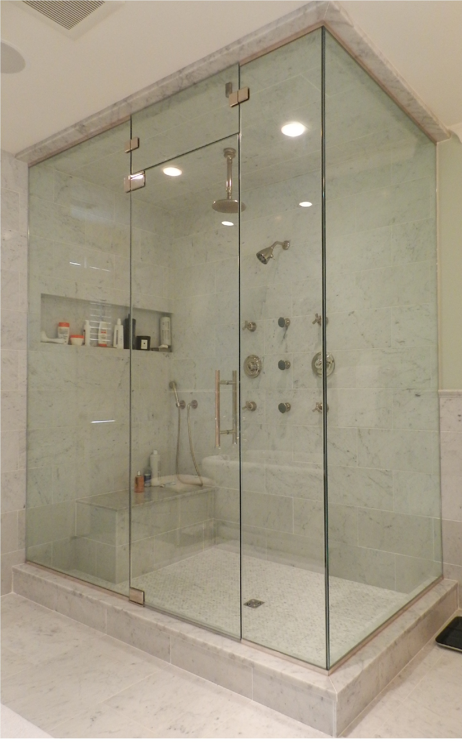 Shower Door Glass Options