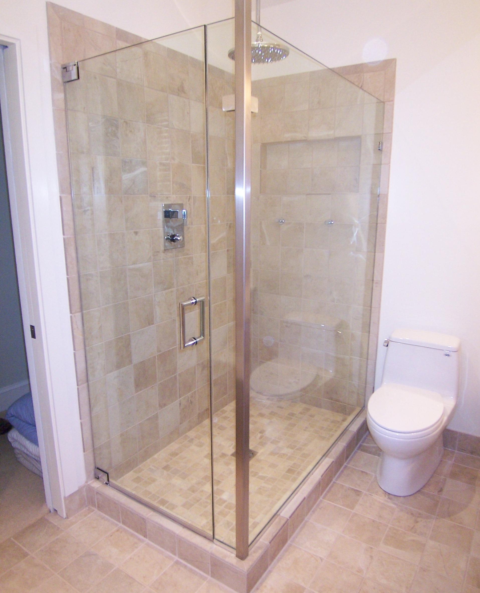 Door Panel Return | Shower Door King | Shower Door Installations