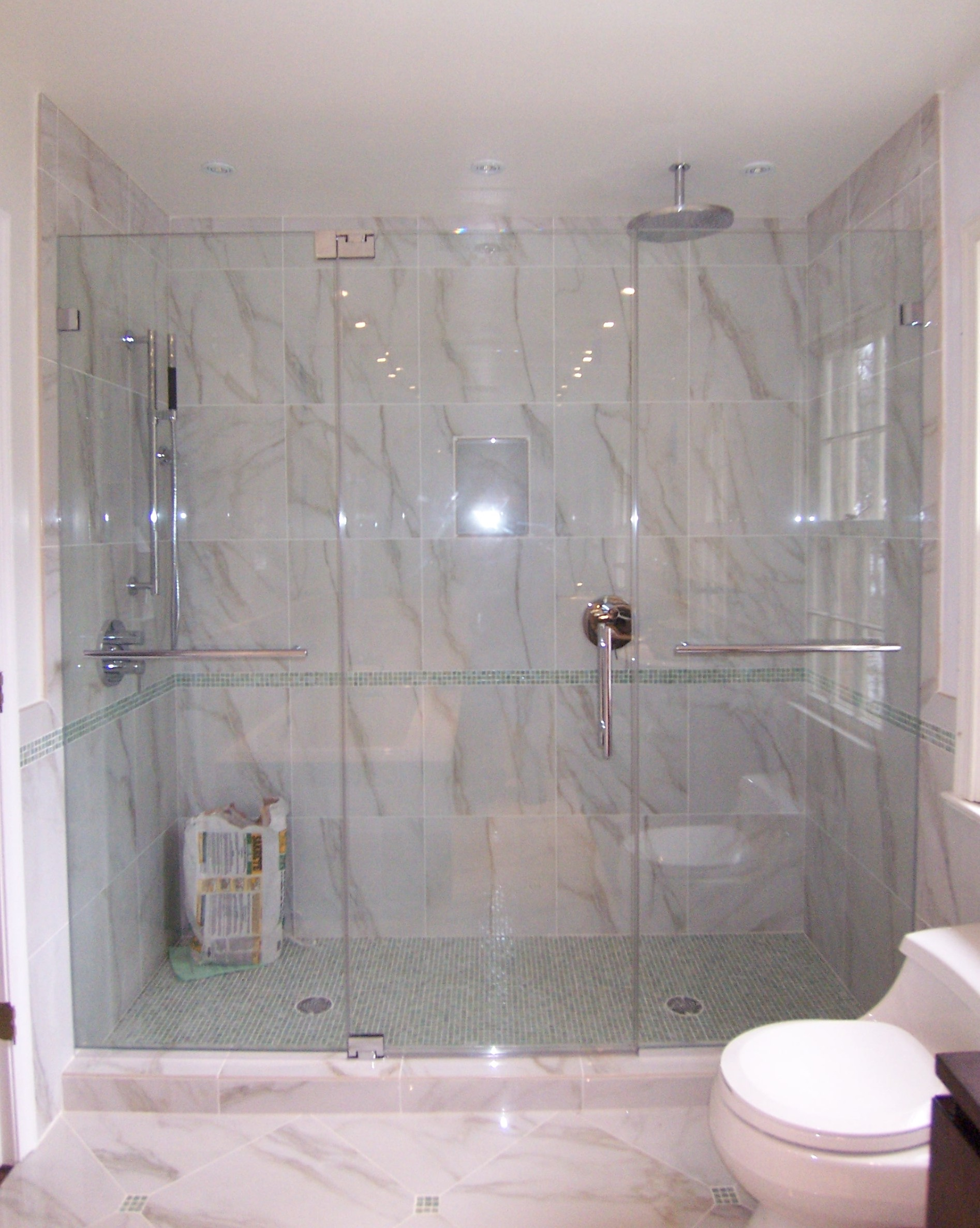 Panel door panel shower door king shower door installations frameless panel door panel half inch glass 3 planetlyrics Gallery