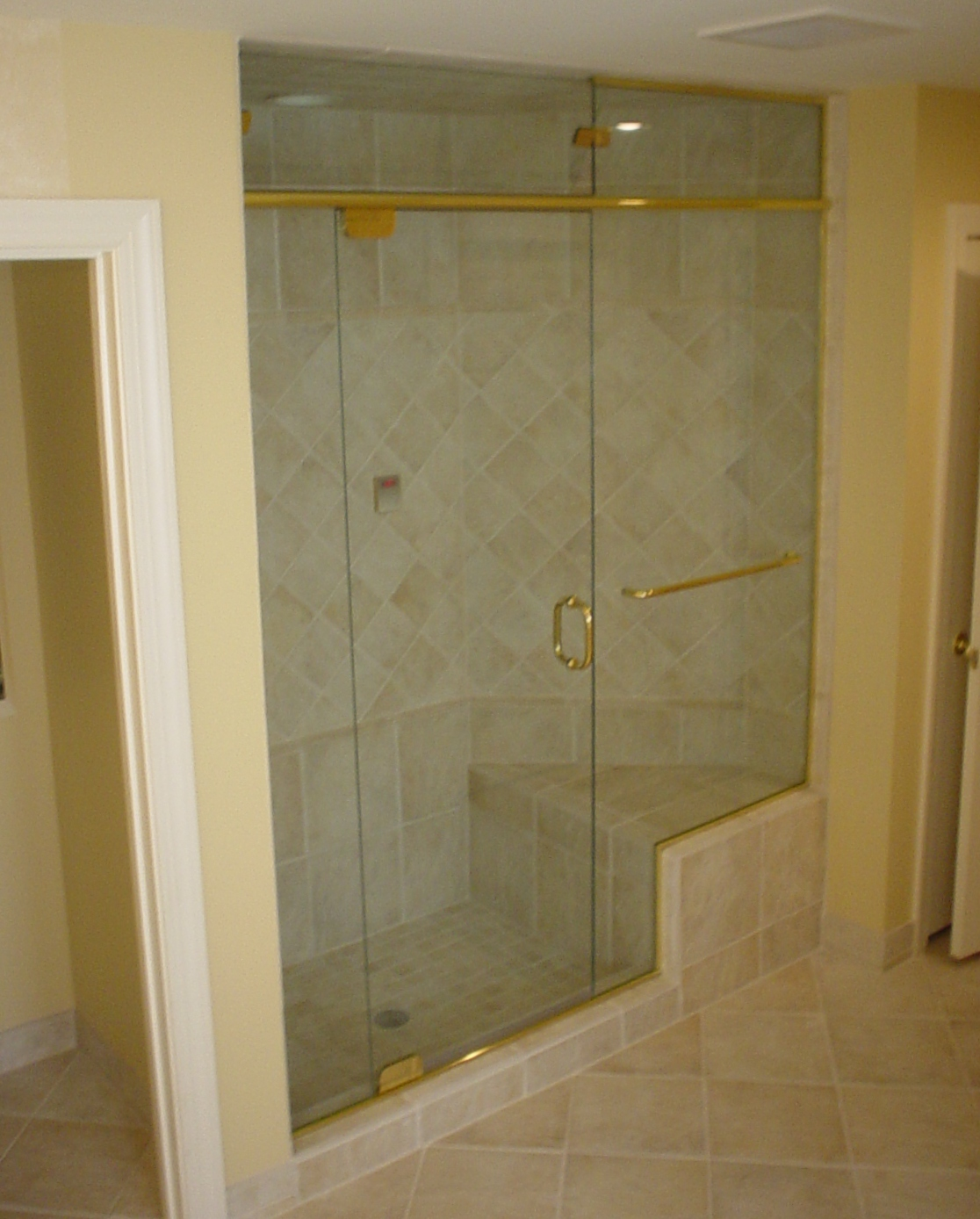 Dc Frameless Glass Shower Doors Obscure Glass Shower Doors