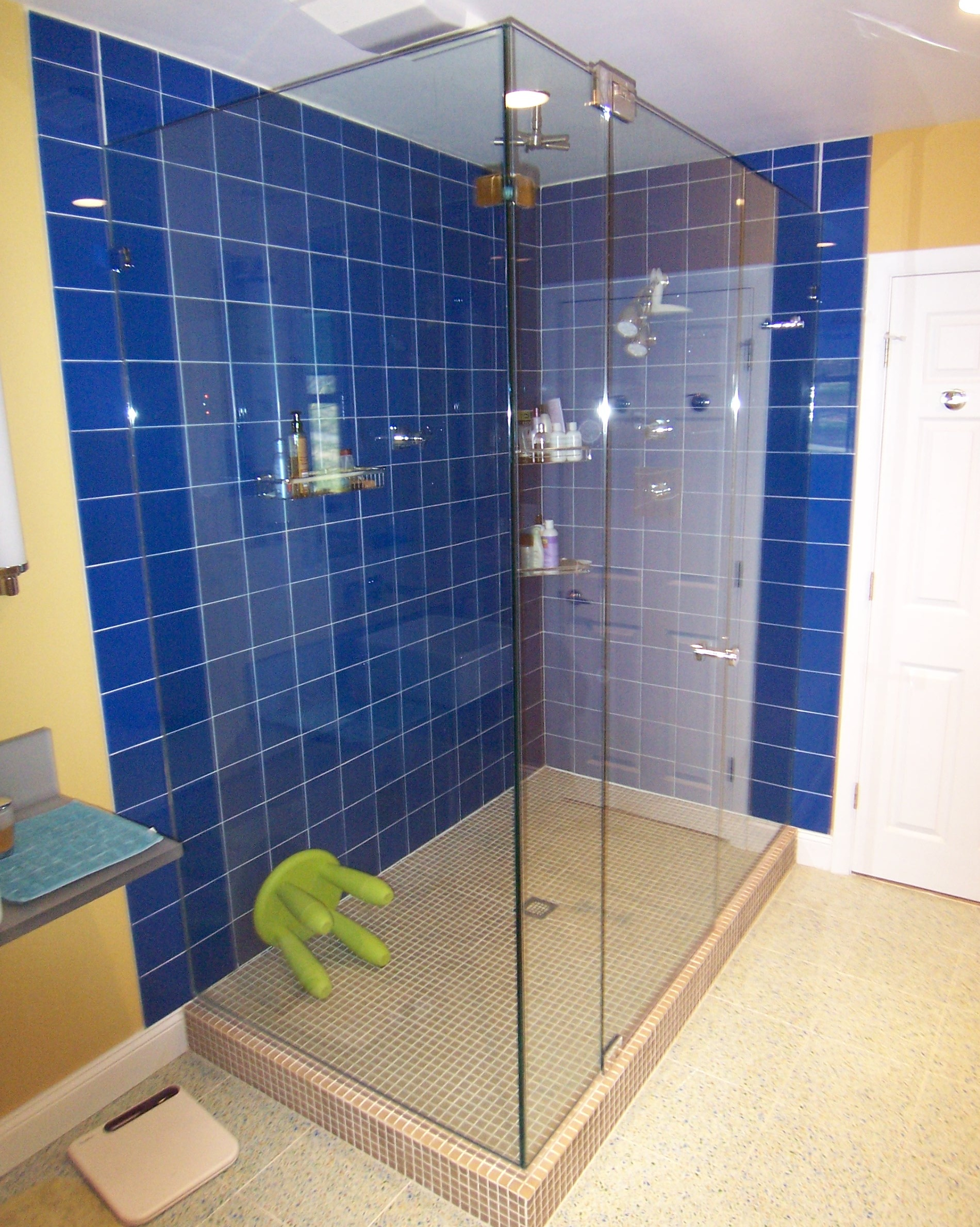 Panel Door Panel Return | Shower Door King | Shower Door Installations