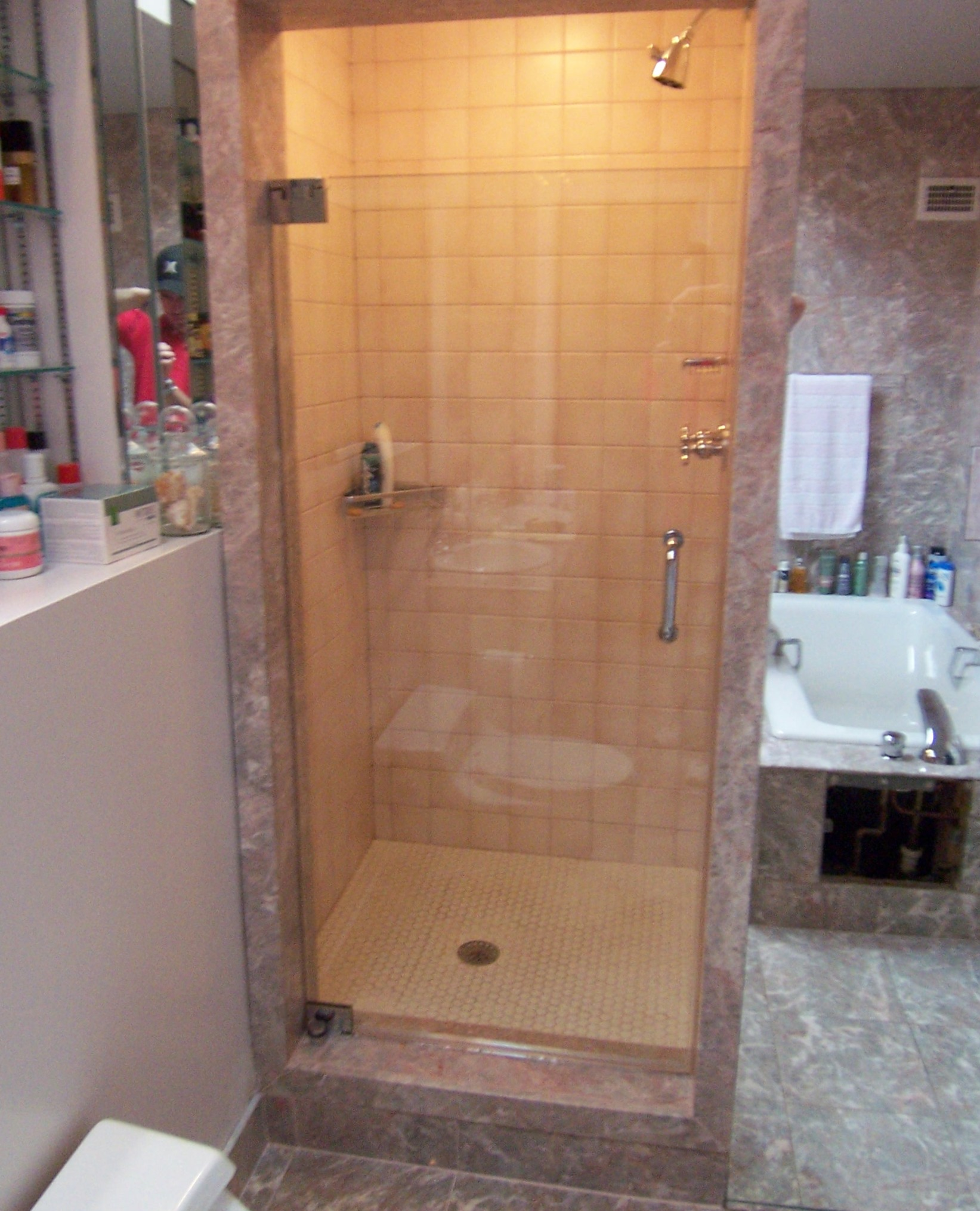 custom frameless shower doors los angeles