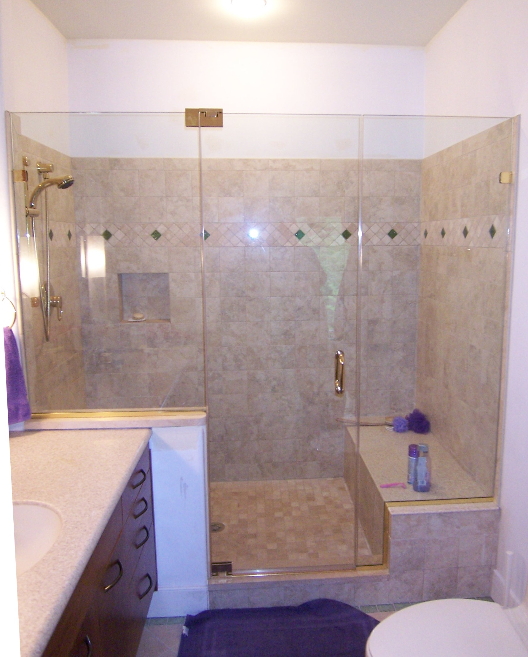 Panel Door Panel | Shower Door King | Shower Door Installations