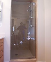 Frameless Shower Door Polished Chrome Hardware