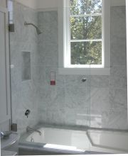Frameless Operable Spray Panel