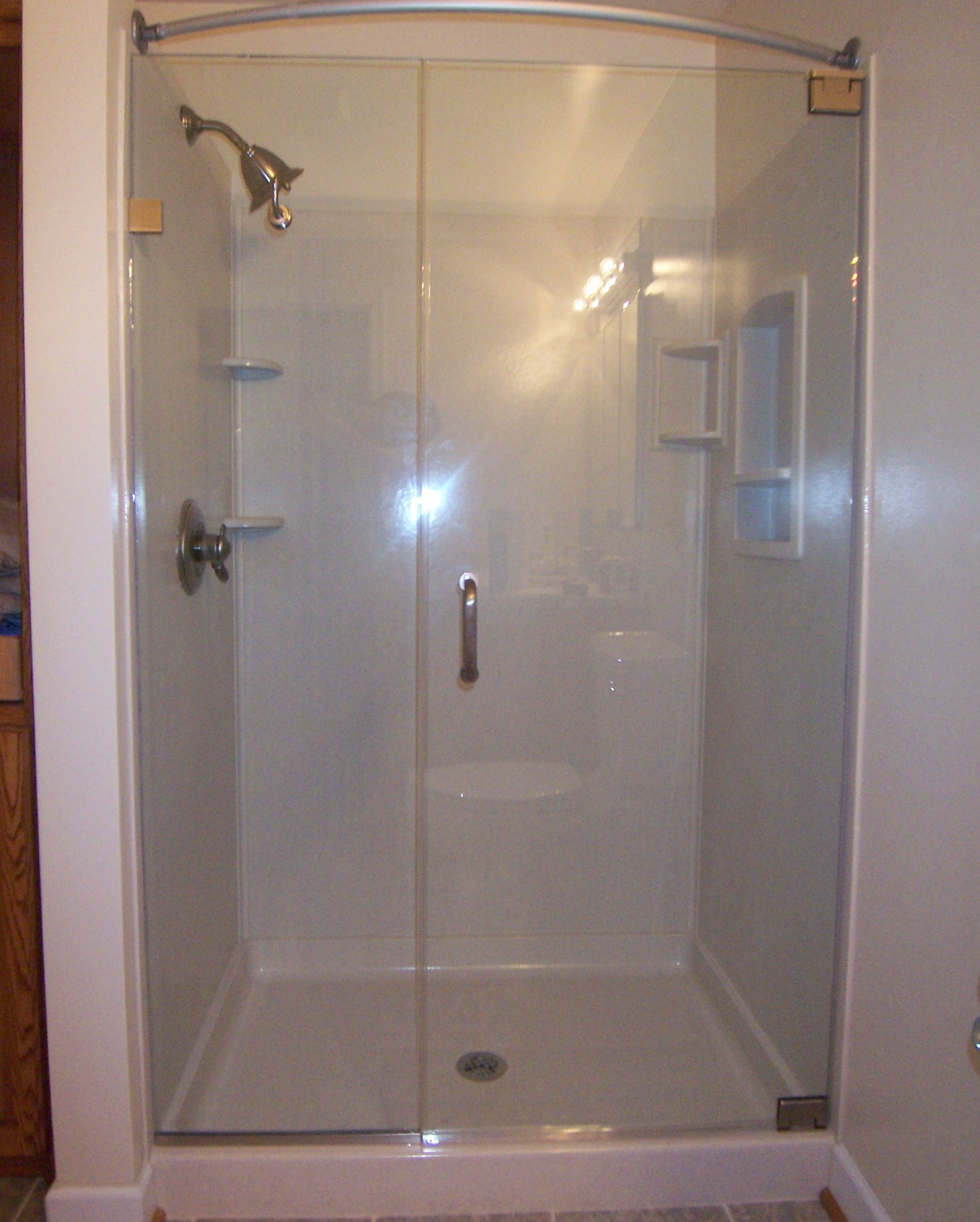 Door Amp Panel Shower Door King Shower Door Installations