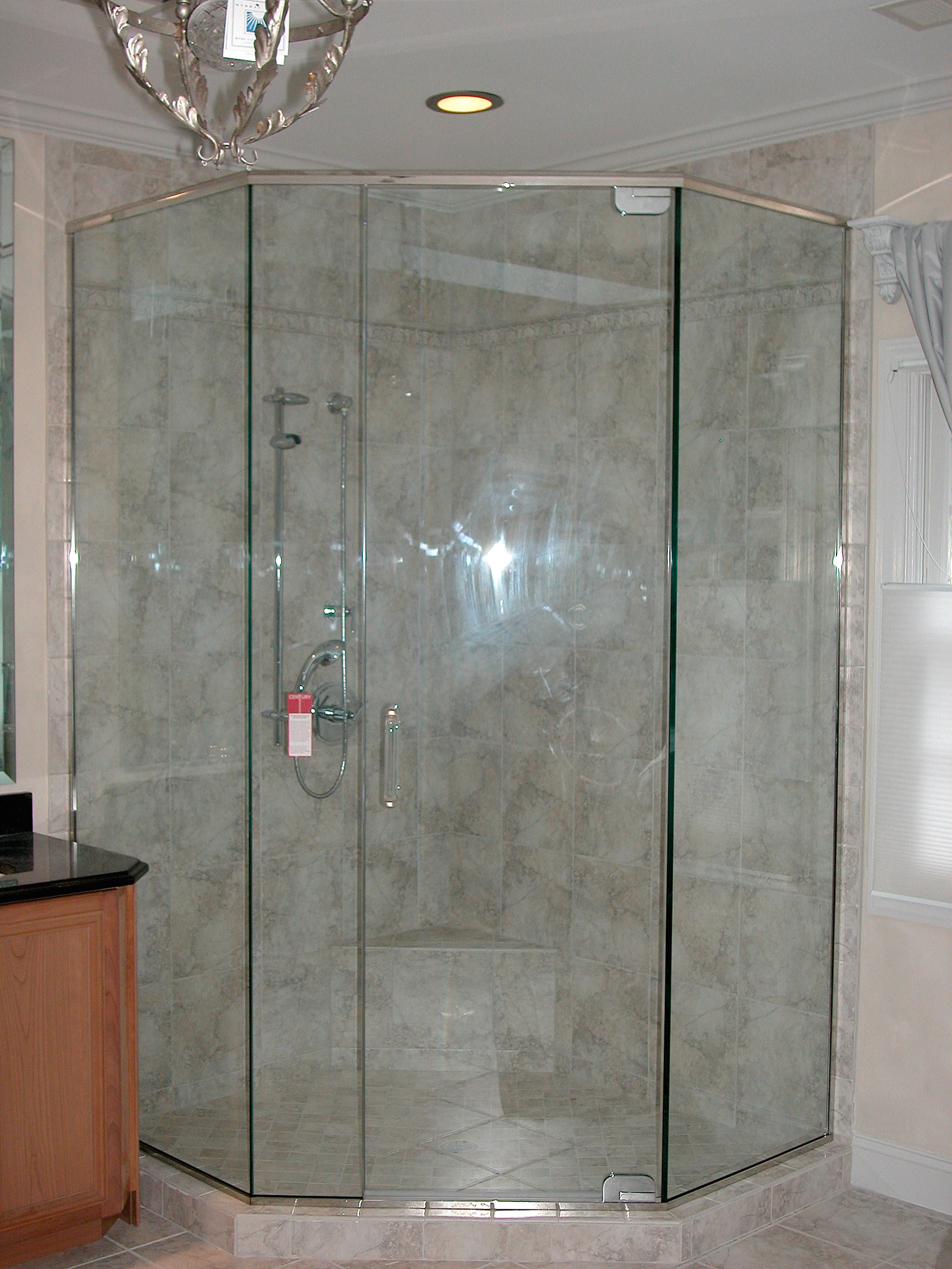 Neo Angle Shower Door King Shower Door Installations